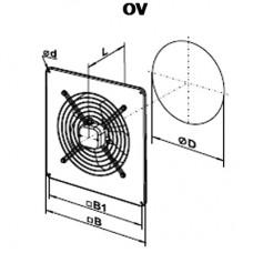 OV 2E 250 Ventilator Axial