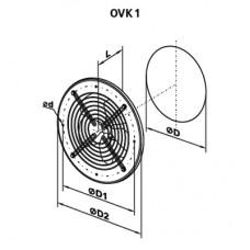 OVK 4E 450 Ventilator Axial