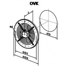 OVK 2D 250 Ventilator Axial