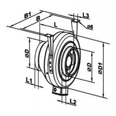 250 Ventilator Centrifugal