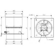 HGTT-V/4- 800 Ventilator
