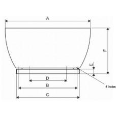 CRVT/4-450 Ventilator Centrifugal
