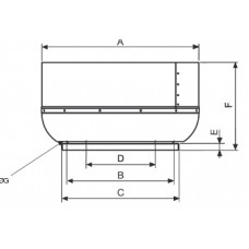 CRVT/4-560 Ventilator Centrifugal