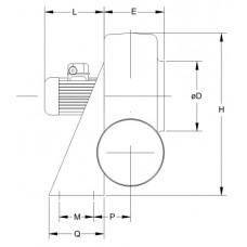 Ventilator Centrifugal Mediu Coroziv MBP 25 T2 1/2
