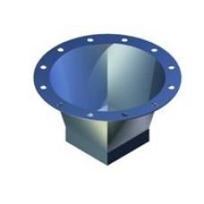 Manseta flexibila cilindrica/rectangulara